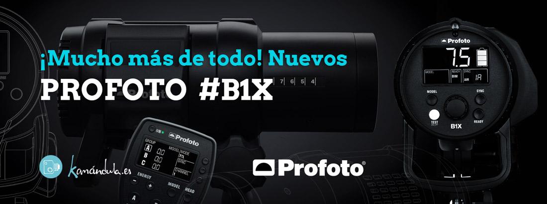 Nuevo Profoto B1X, Mucho más de todo…