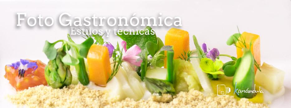 Fotografía gastronómica, Estilos y técnica