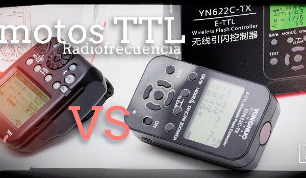 Disparadores remotos TTL por radiofrecuencia