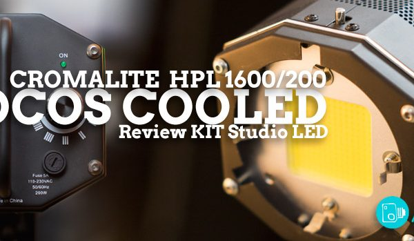 Focos LED Cromalite, Review COOLED HPL 1600/200
