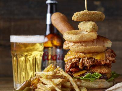 FoodTruck Hamburguesa Especial con 3 carnes